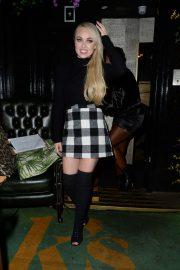 Jorgie Porter - Wrap Party at Kady's Bar in London