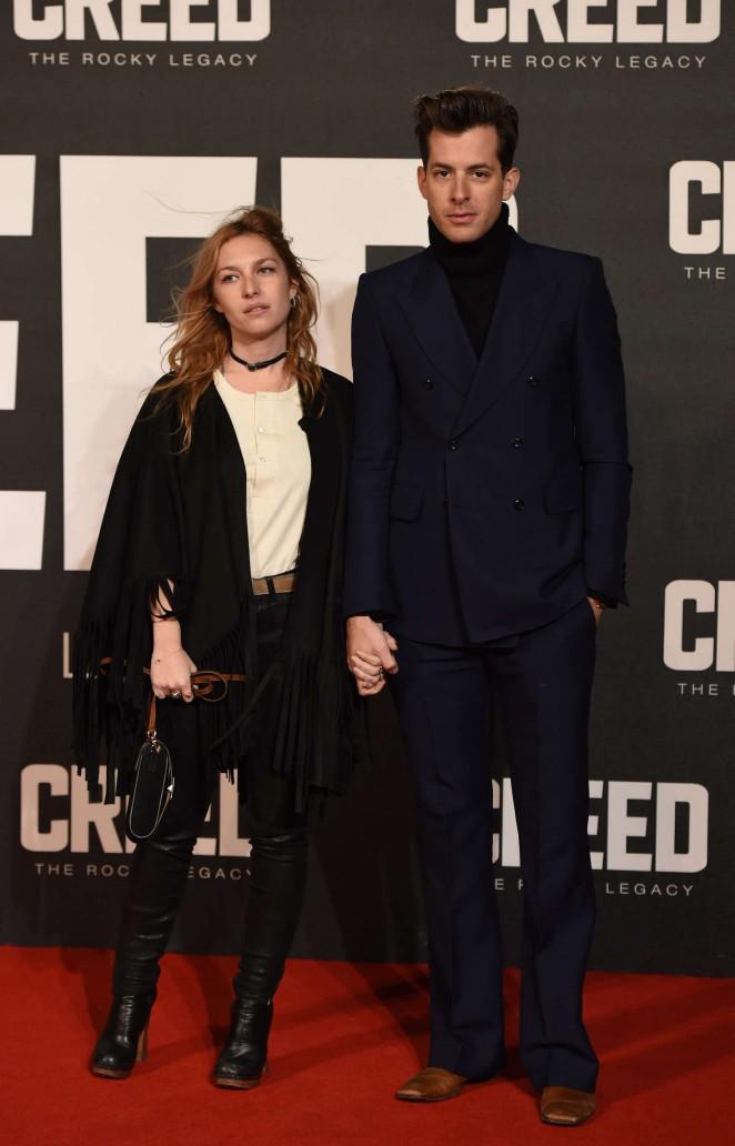 Josephine De La Baume - 'Creed' Premiere in London