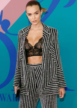 Josephine Skriver - 2017 CFDA Fashion Awards in New York