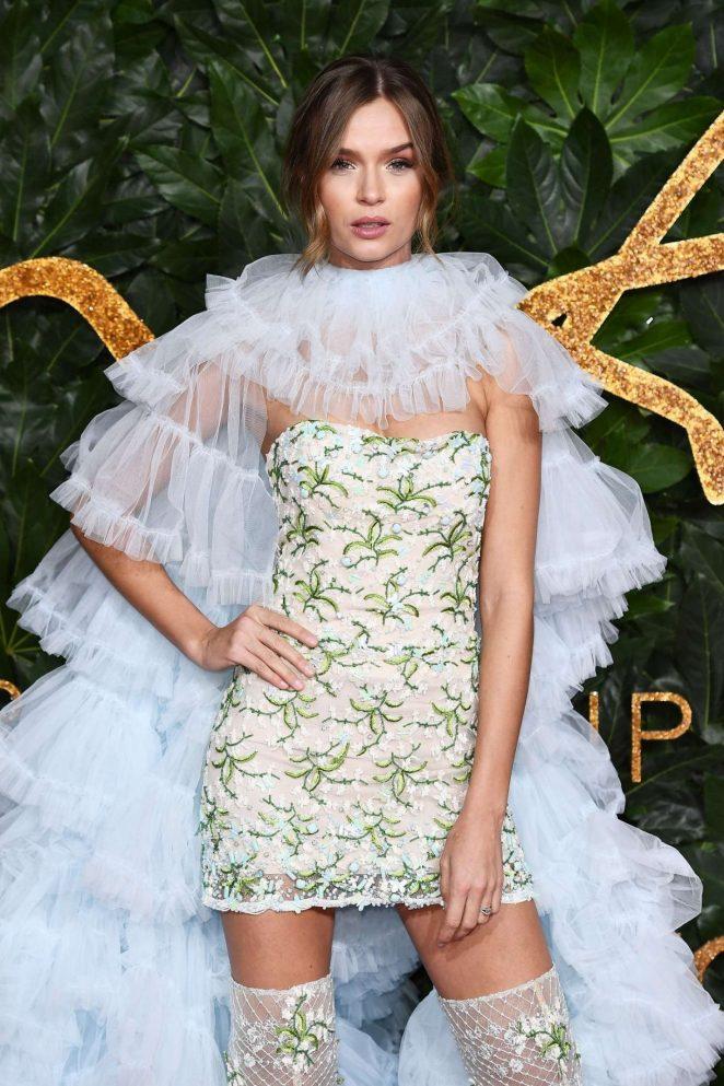 Josephine Skriver – 2018 British Fashion Awards in London