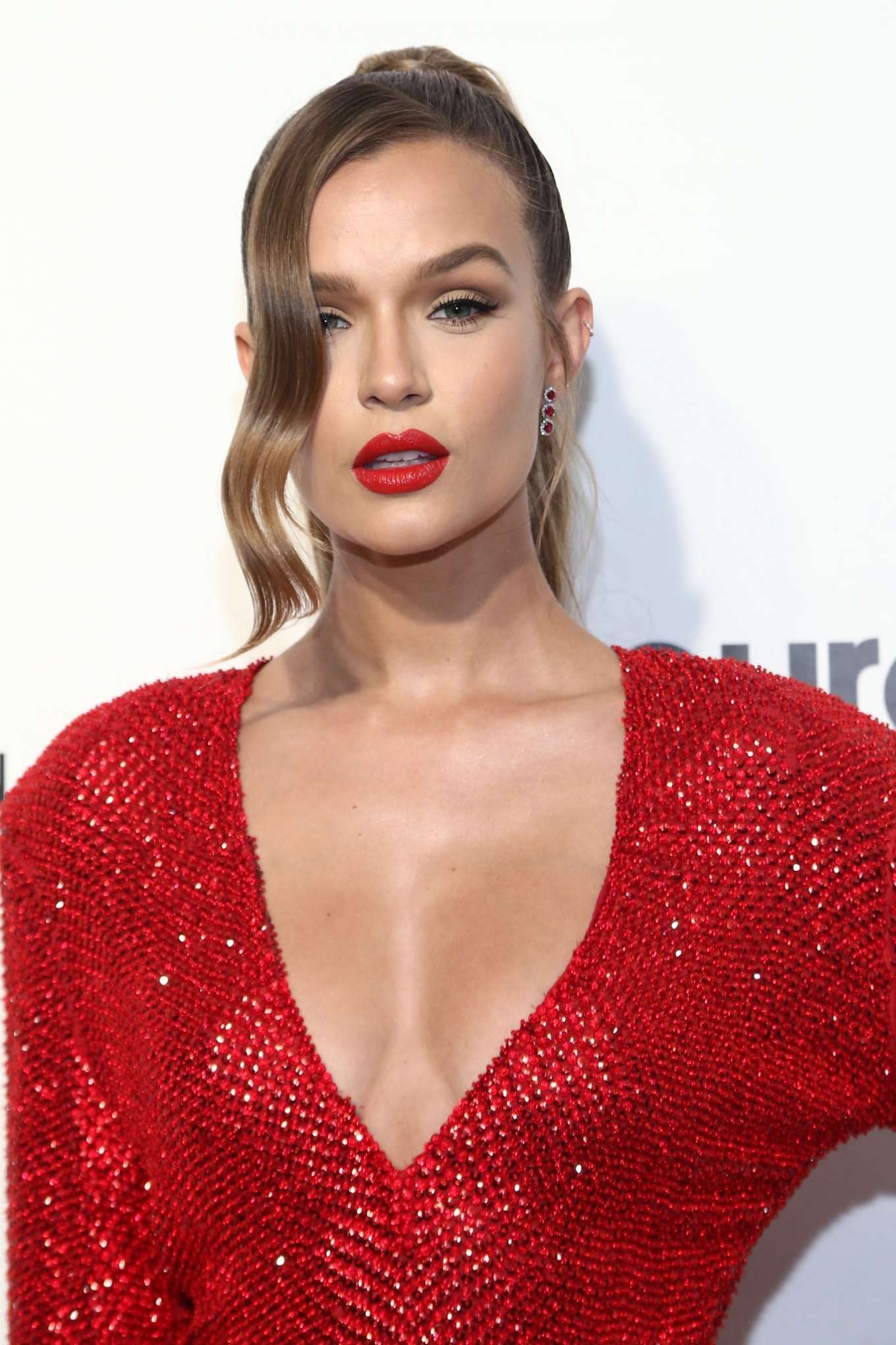 Josephine Skriver 2020 : Josephine Skriver – 2020 Elton John AIDS Foundation Oscar Viewing Party-11