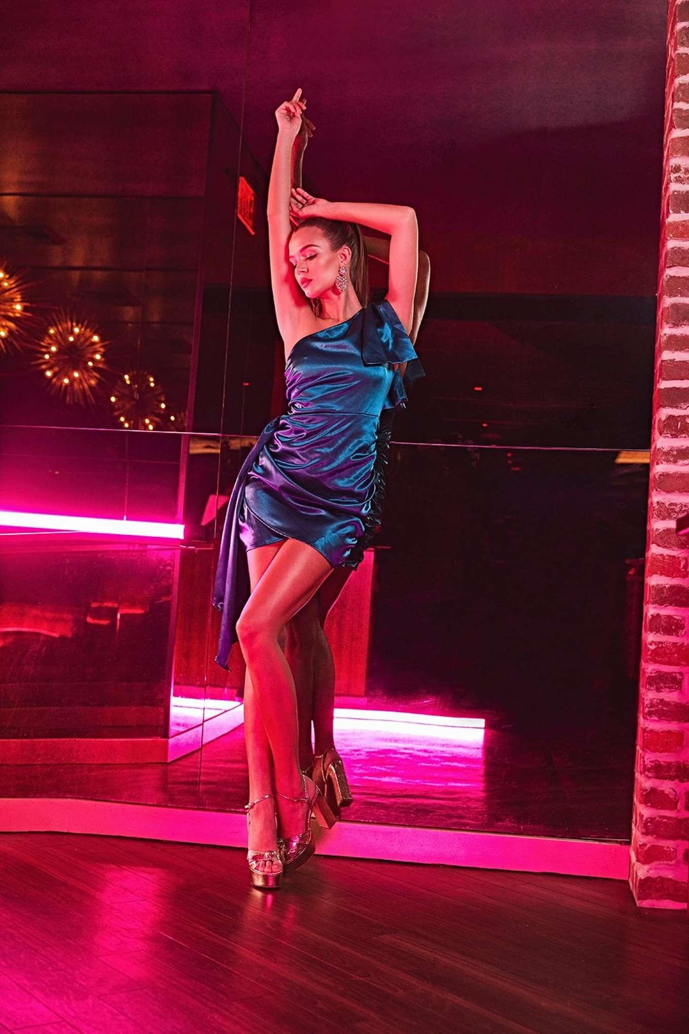 Josephine Skriver 2019 : Josephine Skriver – All That Glitters Holiday Boohoo Campaign 2019-04