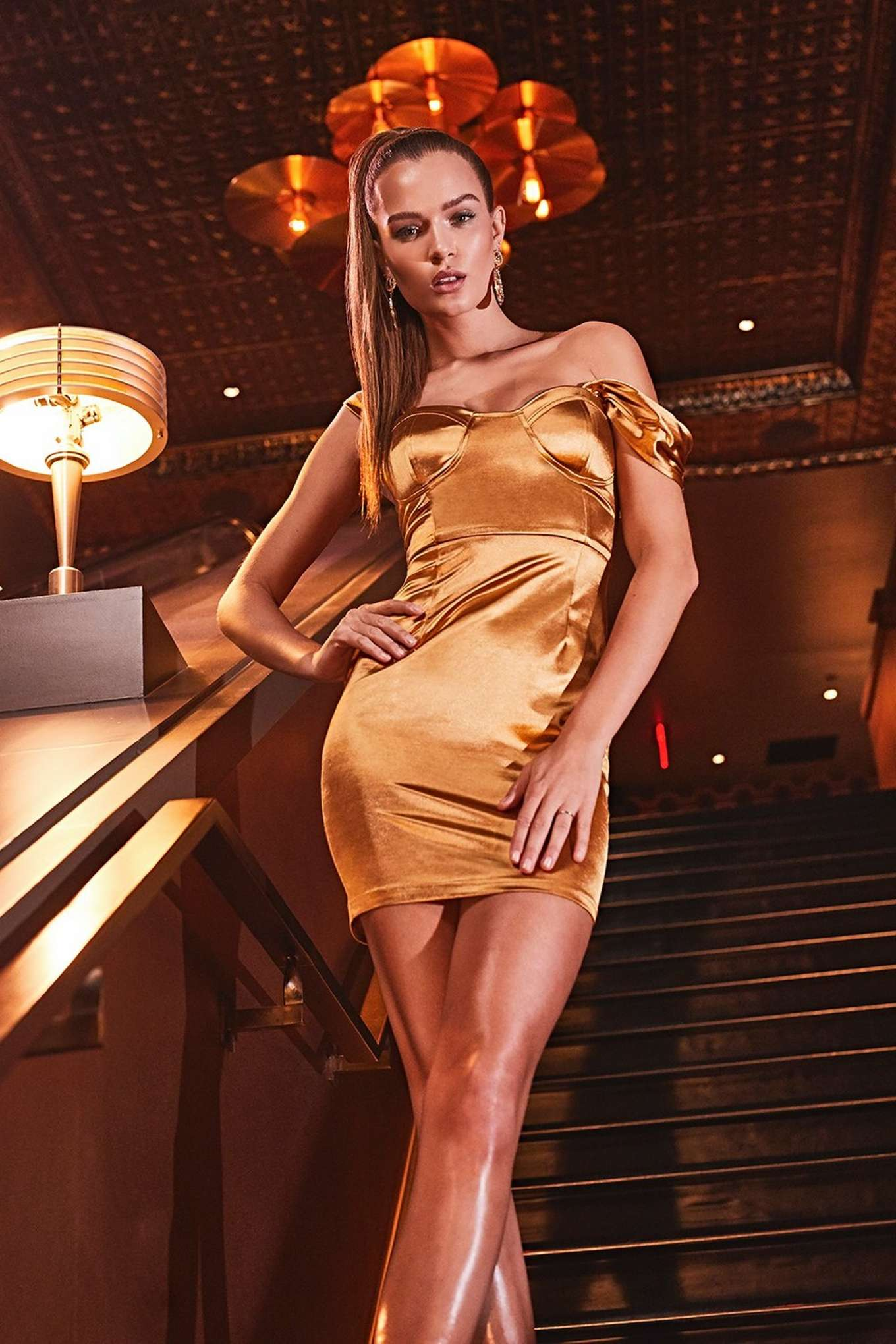 Josephine Skriver 2019 : Josephine Skriver – All That Glitters Holiday Boohoo Campaign 2019-05