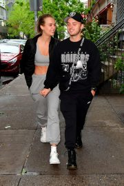 Josephine Skriver and Alexander DeLeon - Out in New York