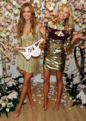 Josephine Skriver and Elsa Hosk - All-new LOVE fragrance event in NYC