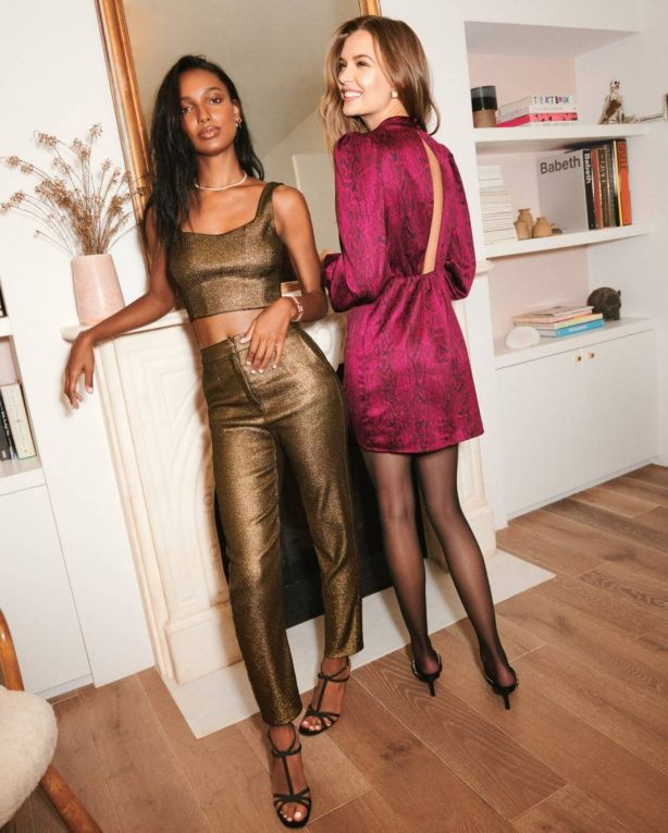 Josephine Skriver and Jasmine Tookes - Dynamite Clothing 2020