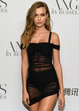 Josephine Skriver - 'ANGELS' by Russell James Book Launch and Exhibit in NY