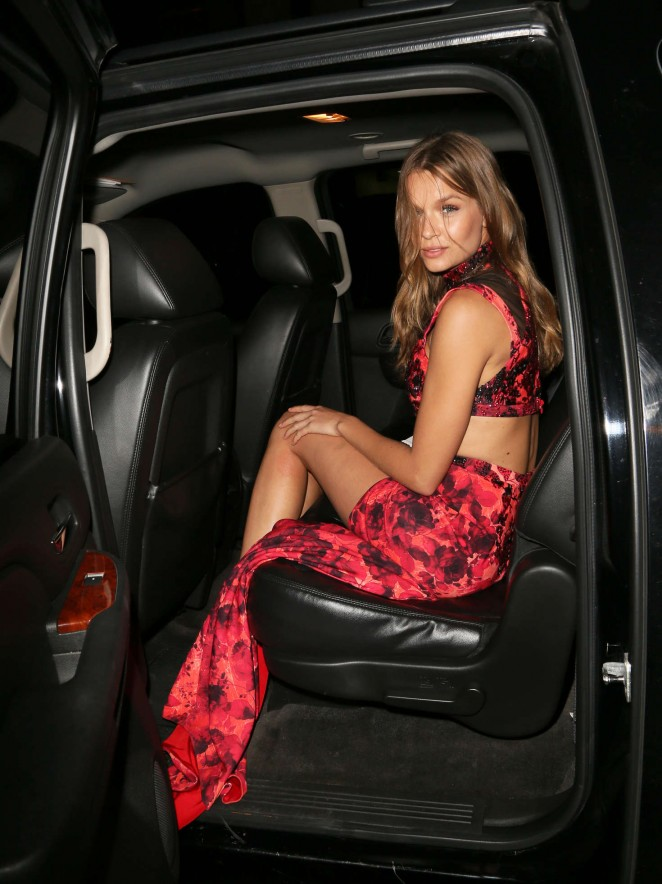 Josephine Skriver at New Yorkers for Children's Spring Dinner Dance in NYC