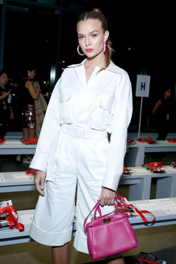 Josephine Skriver - Attends NYFW attends the China Day Lily front row in NY