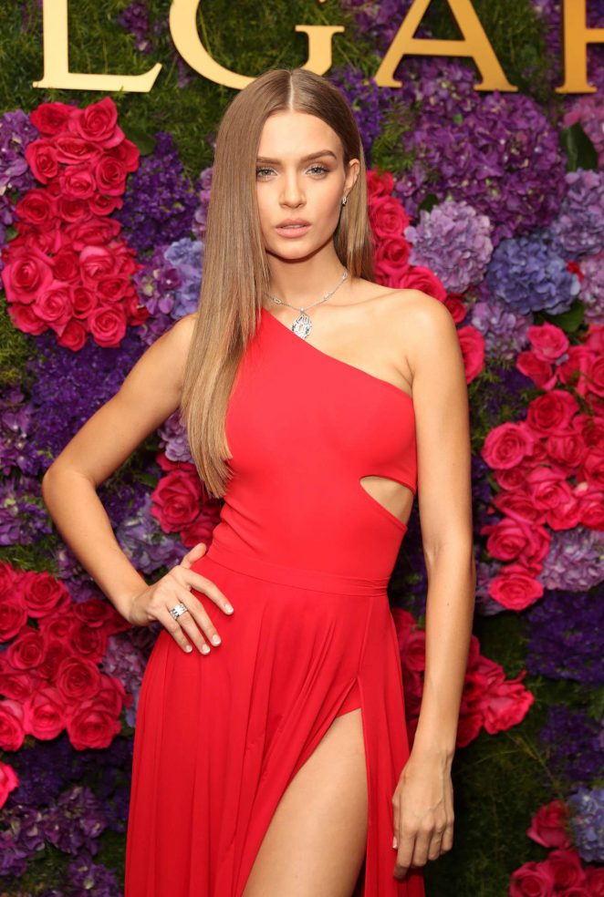 Josephine Skriver - Bulgari pre-Oscar Celebration in Los Angeles