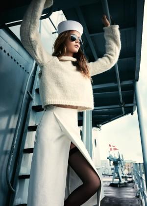 Josephine Skriver - ELLE Denmark Magazine (October 2015)