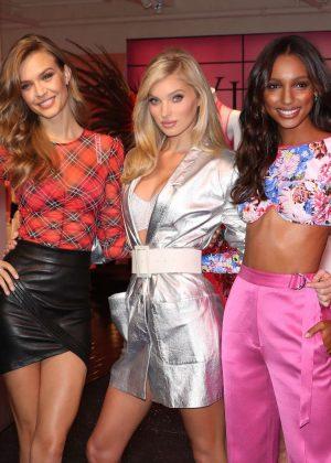 Josephine Skriver Elsa Hosk and Jasmine Tookes - VS Angels Celebrate the Victoria Secret Fashion Show in NY