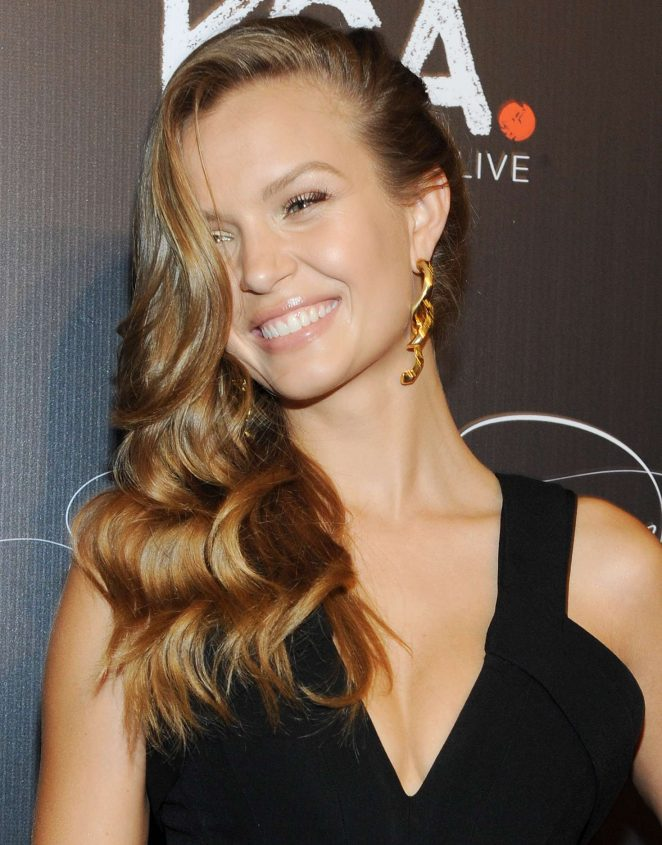 Josephine Skriver - Keep a Child Alive's 13th Annual Black Ball in New York