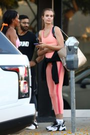 Josephine Skriver - Leaves the Dogpound gym in Los Angeles