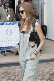Josephine Skriver - Leaving Her Hotel in Cannes