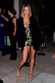 Josephine Skriver - Leaving the Met Gala After Party in NYC