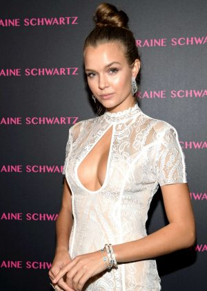 Josephine Skriver - Lorraine Schwartz Eye Bangles Collection Launch in West Hollywood