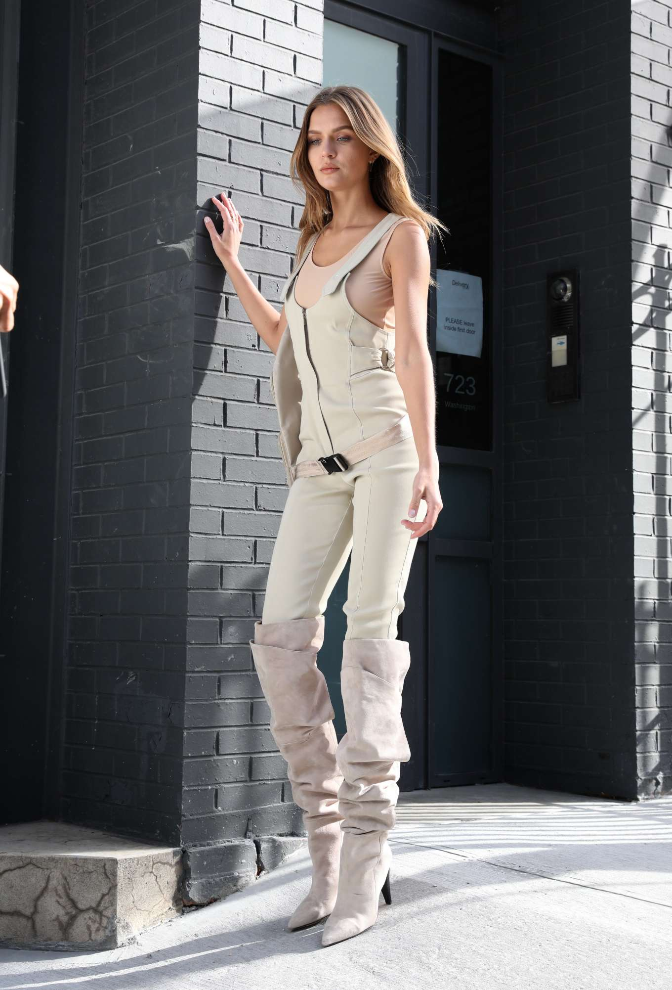 Josephine Skriver 2020 : Josephine Skriver – Maybelline photoshoot set in Manhattan-05