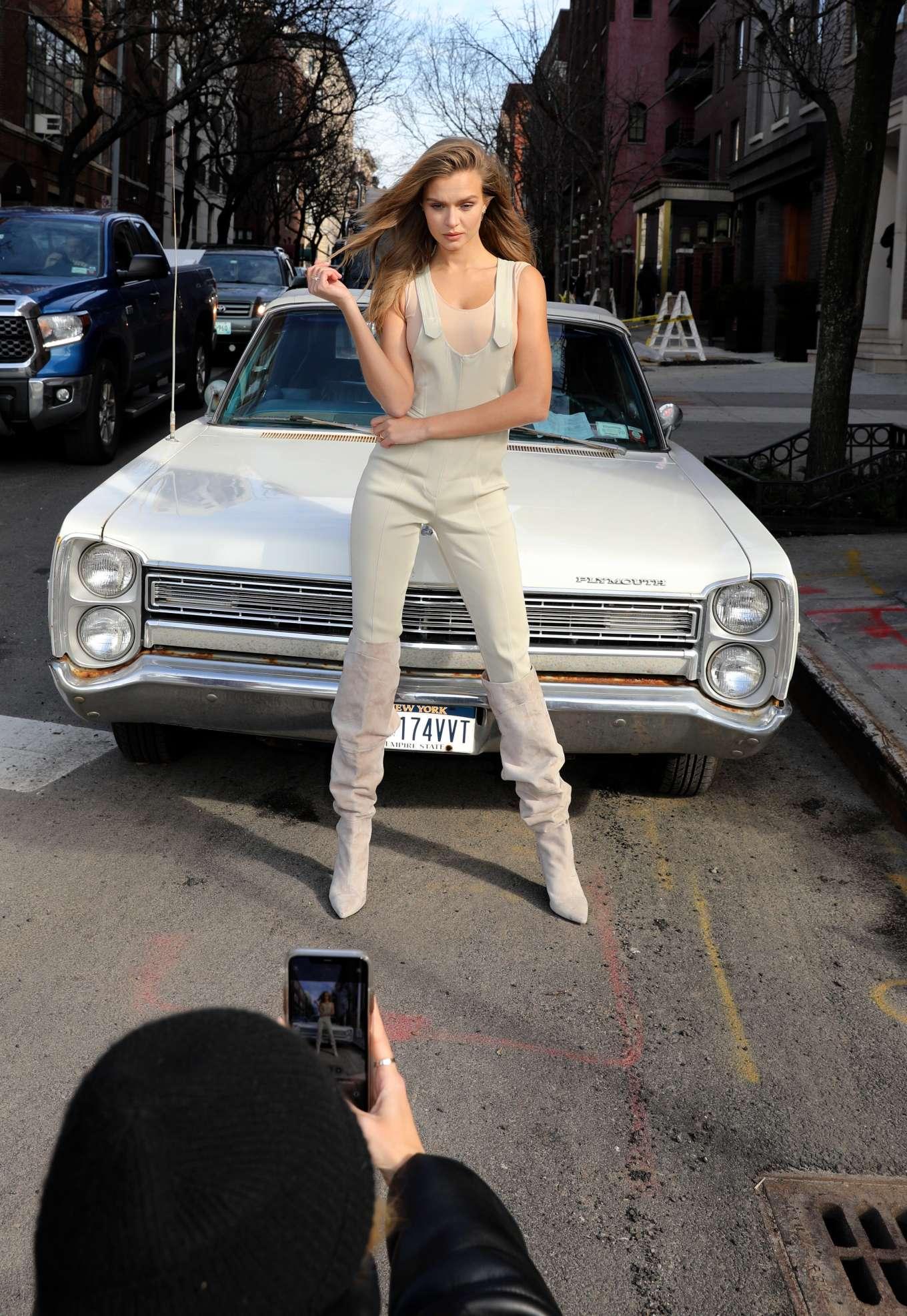 Josephine Skriver 2020 : Josephine Skriver – Maybelline photoshoot set in Manhattan-10