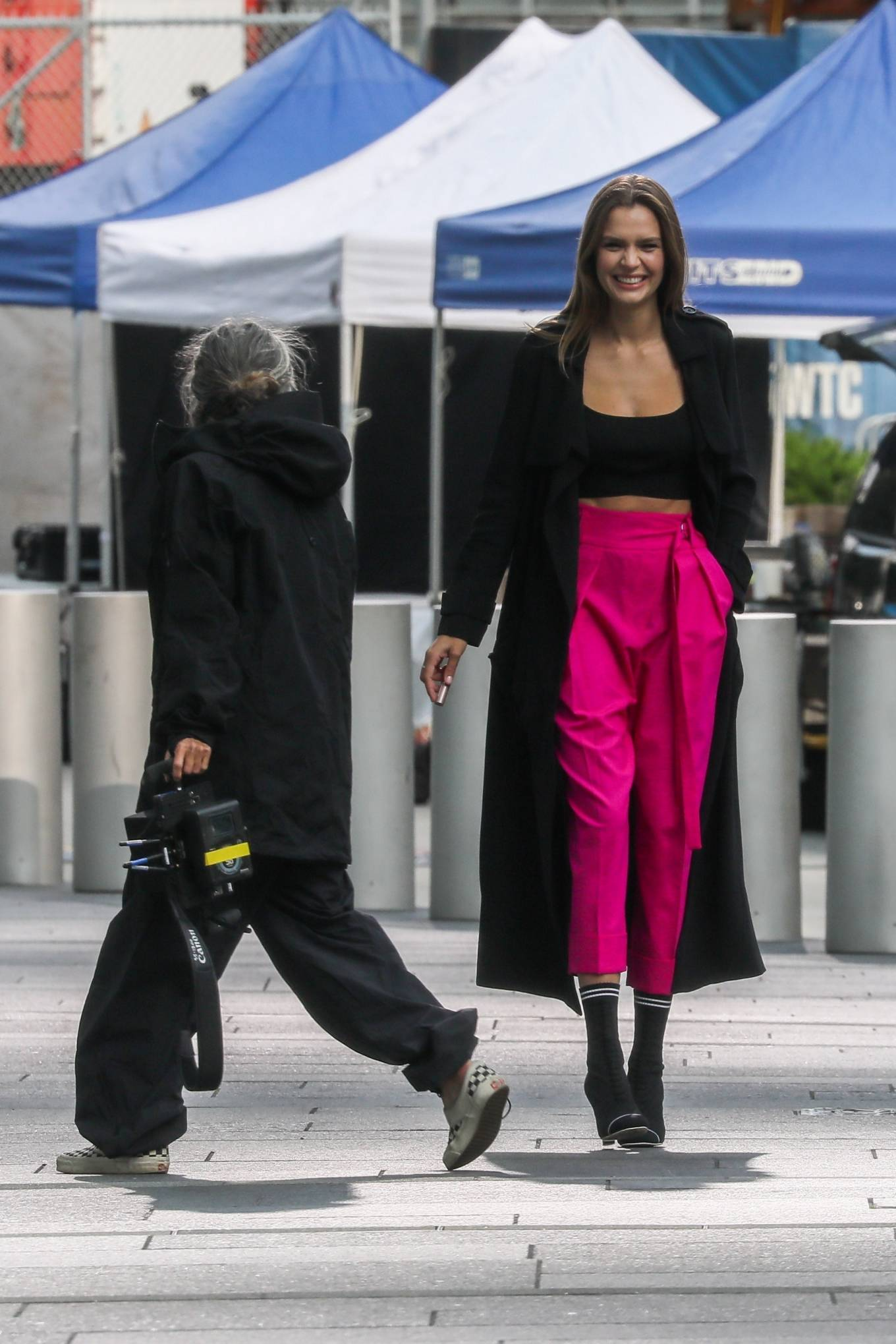Josephine Skriver 2020 : Josephine Skriver – On the set of campaign for Maybelline in New York-02