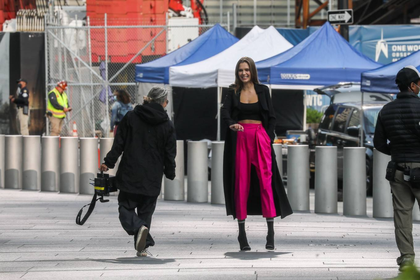 Josephine Skriver 2020 : Josephine Skriver – On the set of campaign for Maybelline in New York-04
