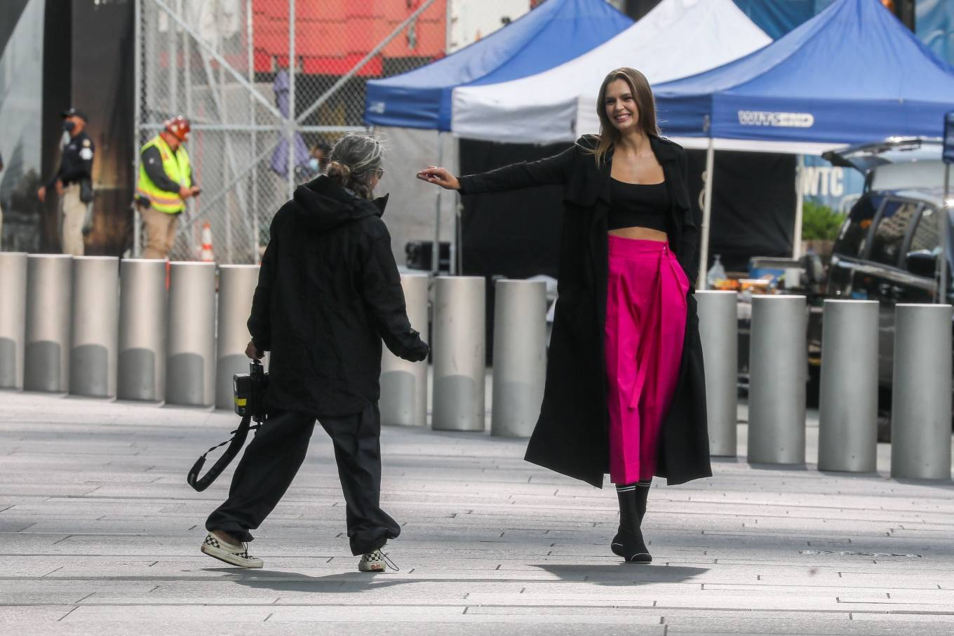 Josephine Skriver 2020 : Josephine Skriver – On the set of campaign for Maybelline in New York-25