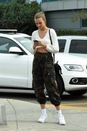 Josephine Skriver - Runnung errands around town in West Hollywood