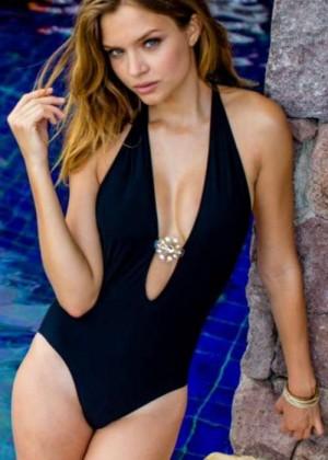 Josephine Skriver - Sauvage Swimwear Shoot