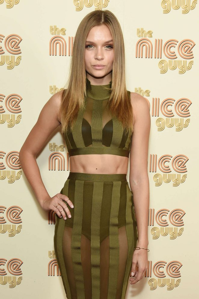 Josephine Skriver - 'The Nice Guys' Premiere in New York