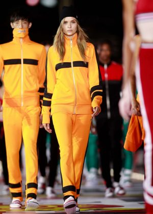 Josephine Skriver - Tommy Hilfiger Fall/Winter 2018 Show in Shanghai