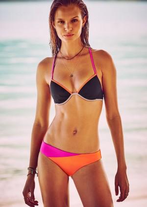 Josephine Skriver - Victoria's Secret Bikini (December 2015)