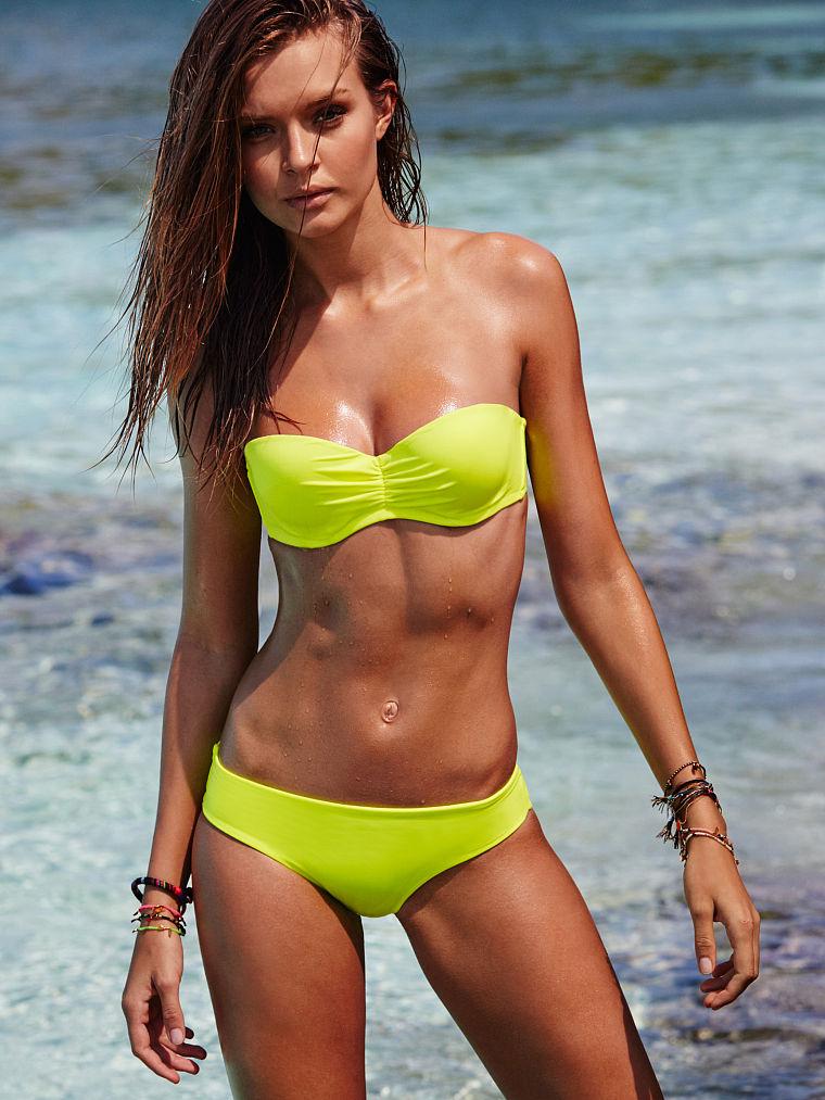 Josephine Skriver - Victoria's Secret Bikini (January 2016)