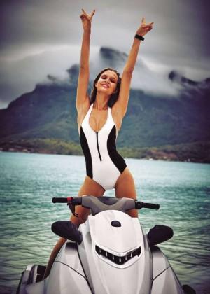 Josephine Skriver: Victoria;s Secret Swim 2016 -03