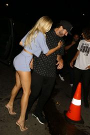 Josie Canseco and Brody Jenner - Seen while out to party at Warwick at TAO in Beverly Hills