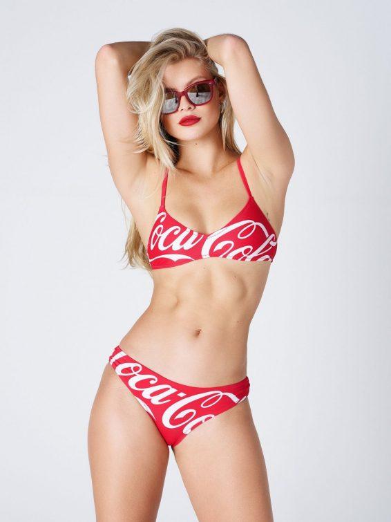 Josie Canseco - Kith x Coca Cola 2019 photoshoot