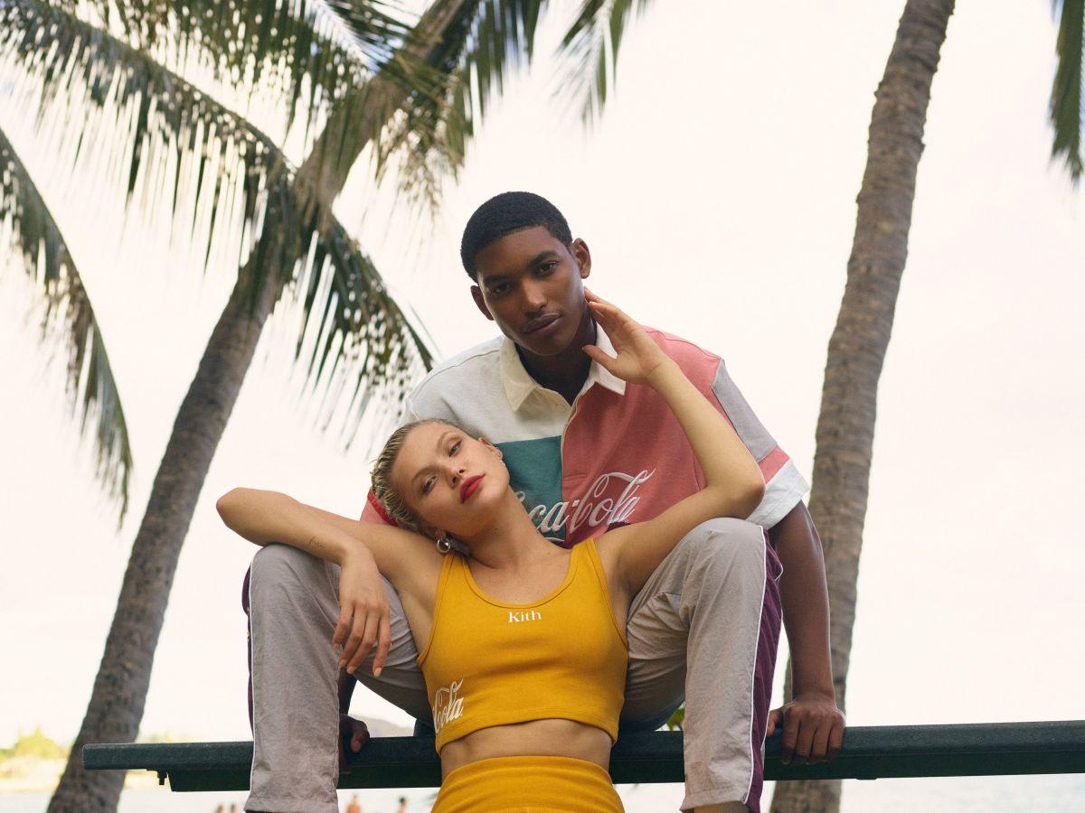 Josie Canseco – Kith x Coca Cola 2019 photoshoot-30