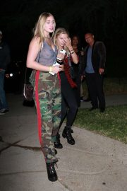 Josie Canseco - Leaves the mansion party in Beverly Hills