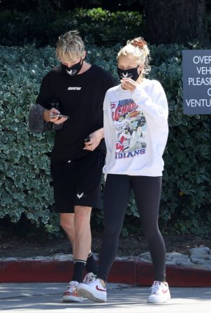 Josie Canseco - Out with Logan Paul in Encino