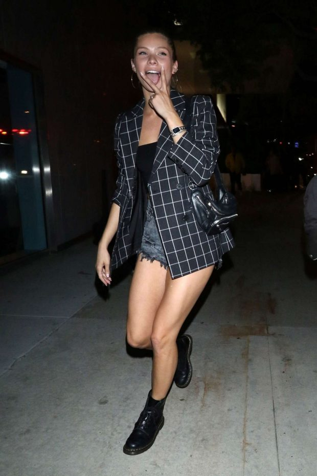 Josie Canseco - Seen outside Bootsy Bellows in West Hollywood