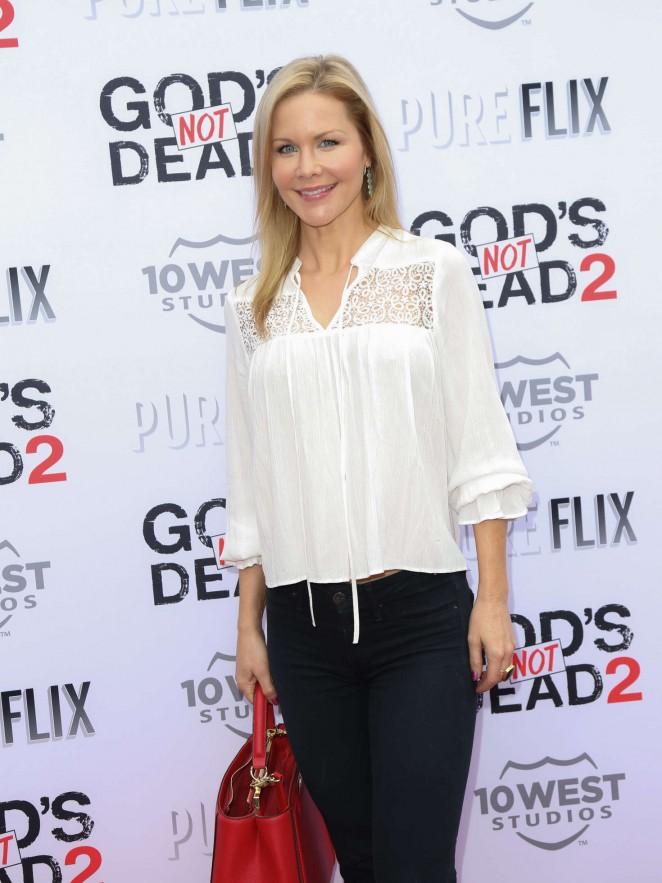 Josie Davis - 'God's Not Dead 2' Premiere in Los Angeles