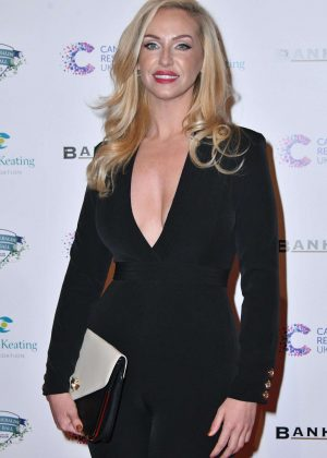 Josie Gibson - Emeralds and Ivy Ball 2017 in London