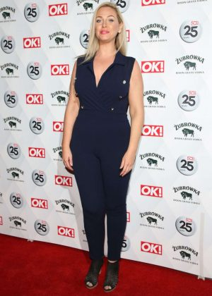 Josie Gibson -  OK! Magazine's 25th Anniversary Party in London