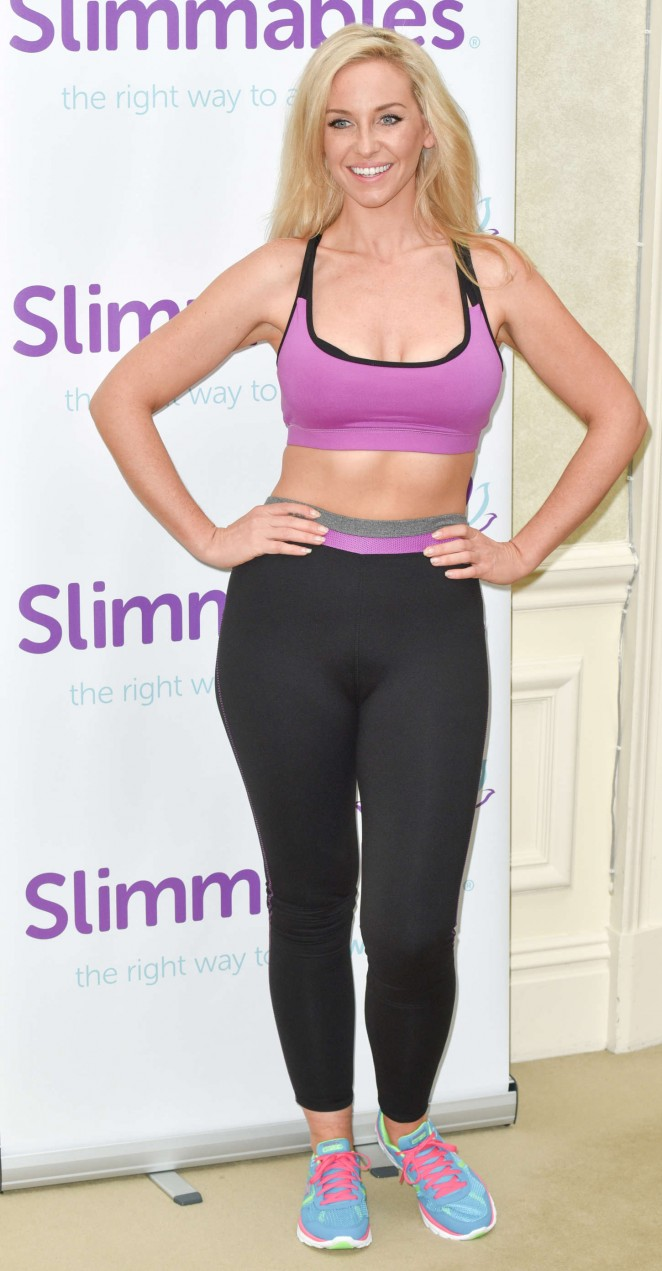 Josie Gibson 2015 : Josie Gibson: Slimmables Photocall -10