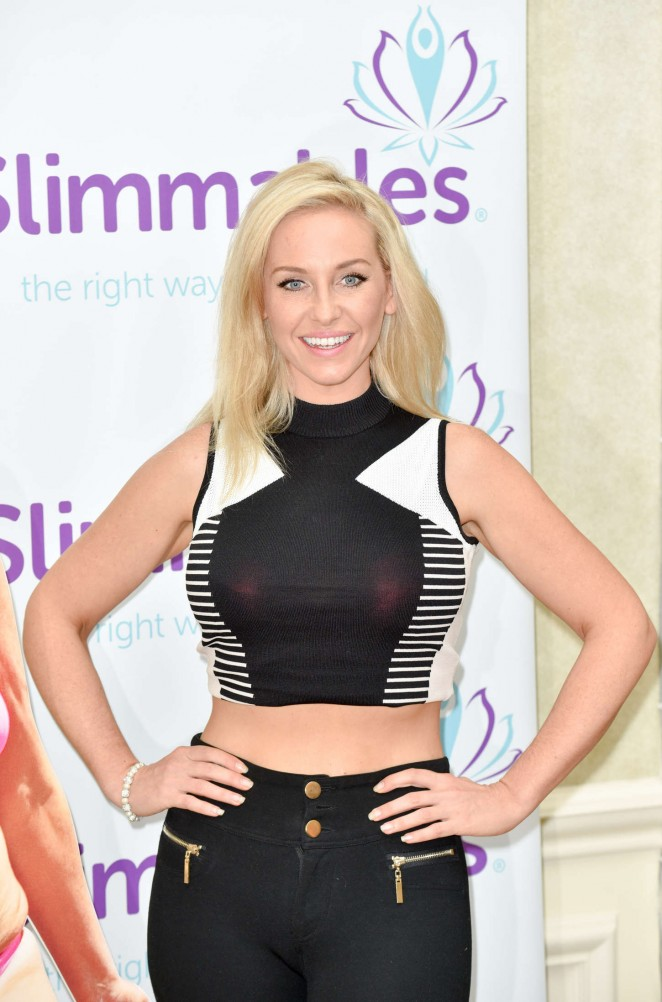 Josie Gibson 2015 : Josie Gibson: Slimmables Photocall -15