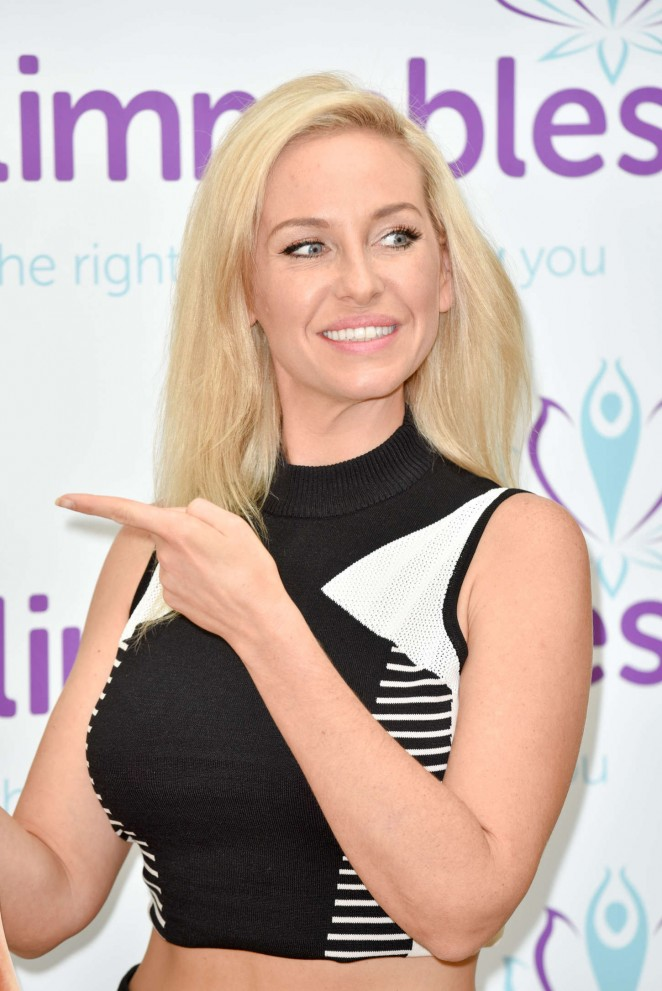 Josie Gibson: Slimmables Photocall -23
