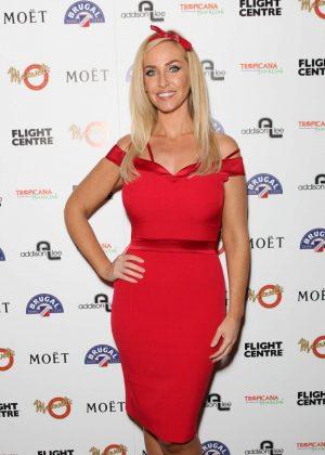 Josie Gibson - VIP Opening Night Of Tropicana Beach Club in London