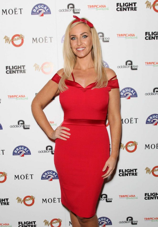 Josie Gibson - VIP Opening Night Of Tropicana Beach Club in London