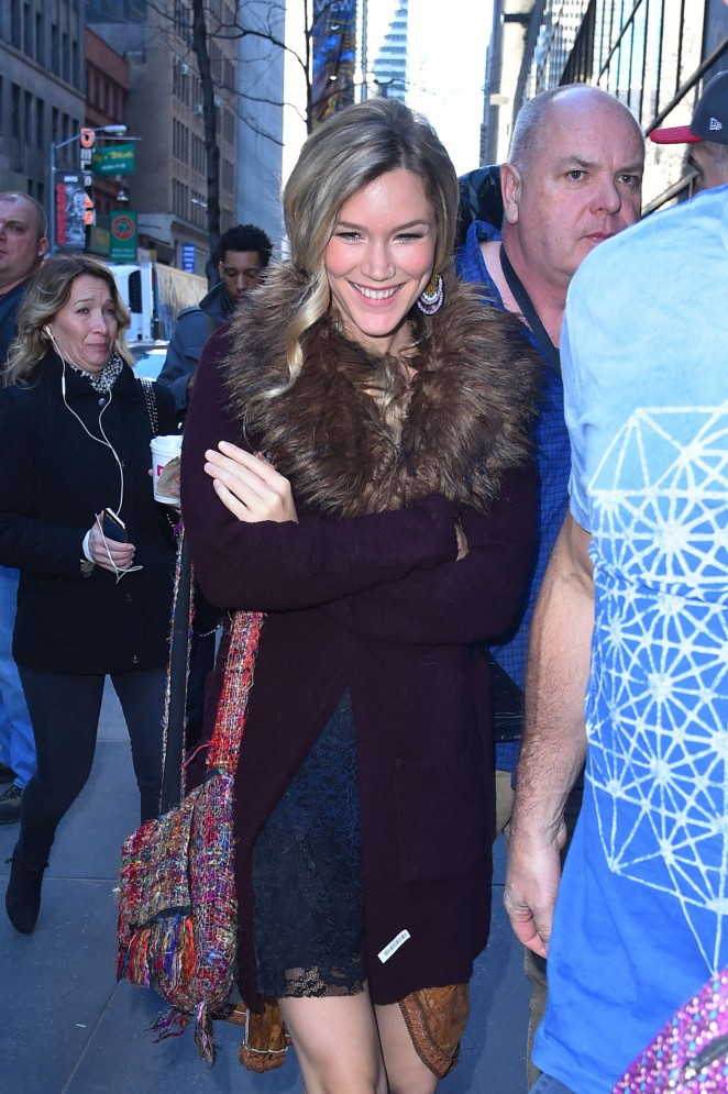 Joss Stone - Arrives at the Today Show in New York