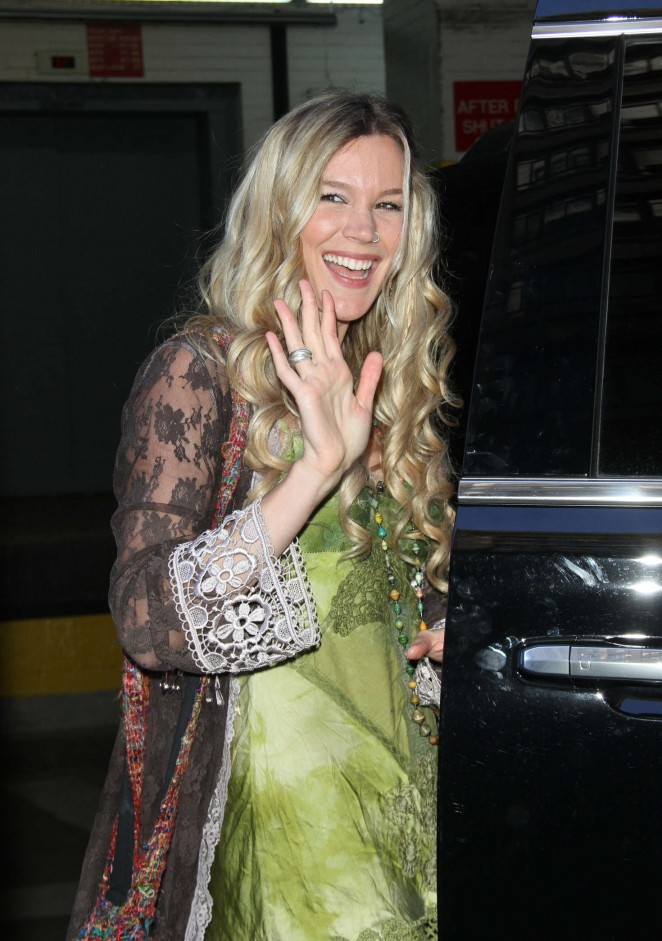 Joss Stone – Promote 'Water for Your Soul' new album at AOL Build in NYC