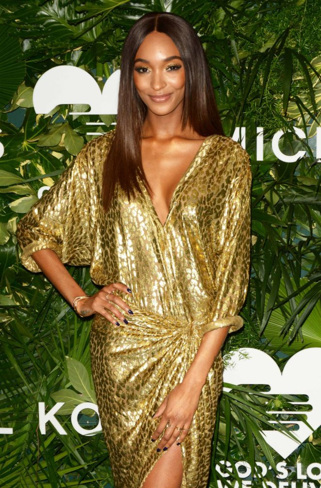 Jourdan Dunn - 11th Annual God's Love We Deliver Golden Heart Awards in NYC